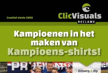 Kampioensshirts voor sportteams