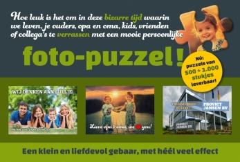 Foto-puzzels: nú 500 en 1000 stukjes leverbaar!