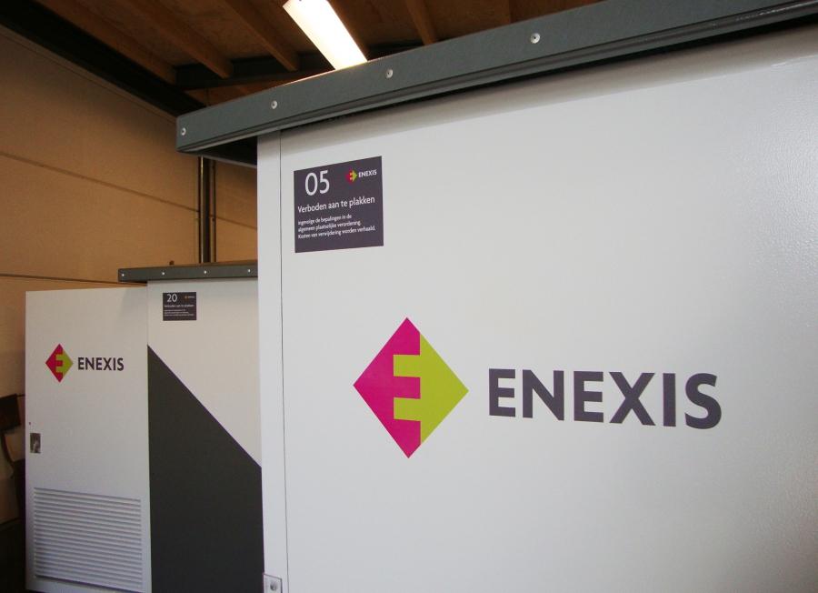 Meta Techniek - Bestickeren trafo-kasten Enexis