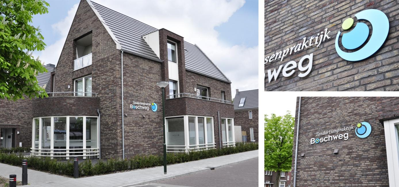 Tandartsenpraktijk Boschweg - Gevel- en raambelettering