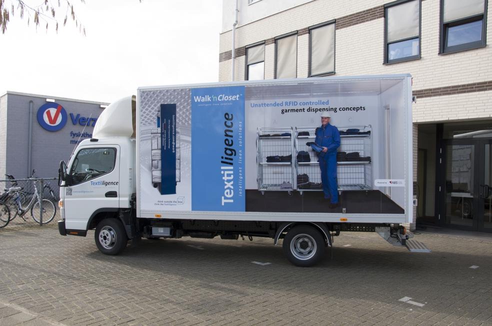 Textilligence / ABS - Belettering demo-wagen