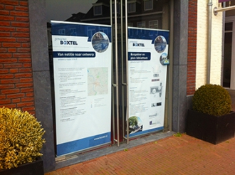 Gemeente Boxtel - Roll-up banners project STA-P