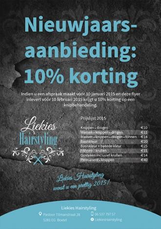 Liekies Hairstyling - Huisstijl