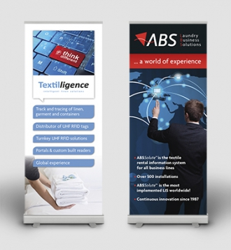 ABS/Textilligence - Roll-up banners