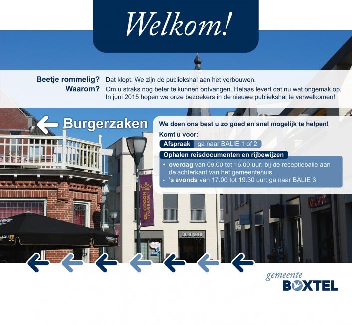 Gemeente Boxtel - Bouwwand-visuals