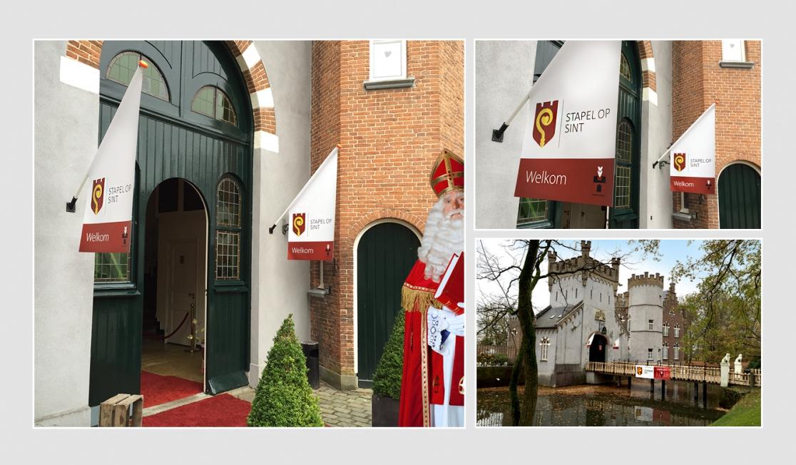 Stapel op Sint (Boxtel Vooruit) - Vlaggen en spandoeken
