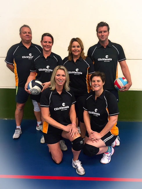 BBO Volleybalteam Clic Visuals Reclame - Teamshirts