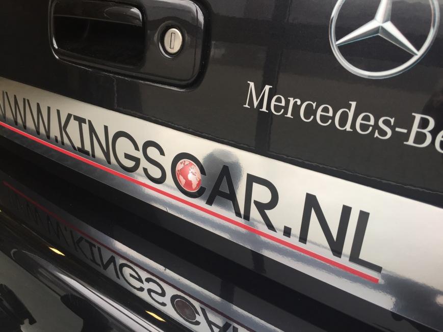 Kings Car - Belettering bus