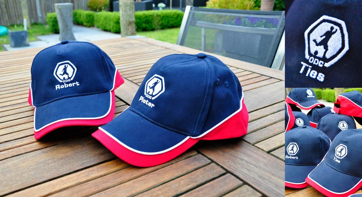 Voetbalvereniging ODC - Caps met borduring