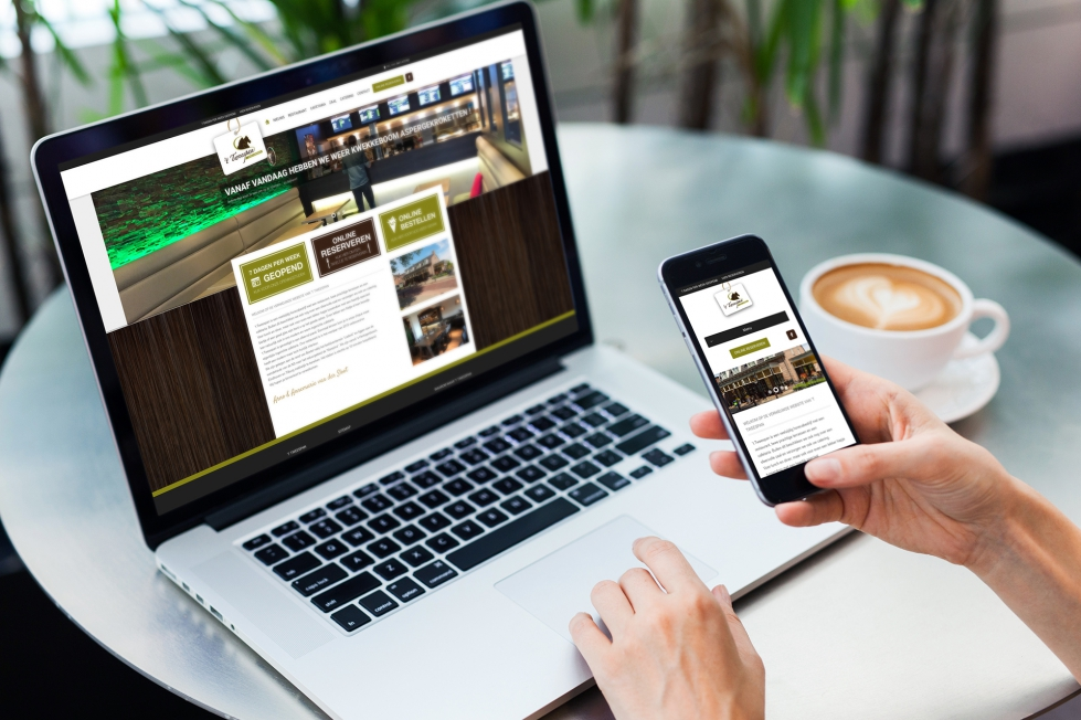 't Tweespan Eten & Drinken - Webdesign