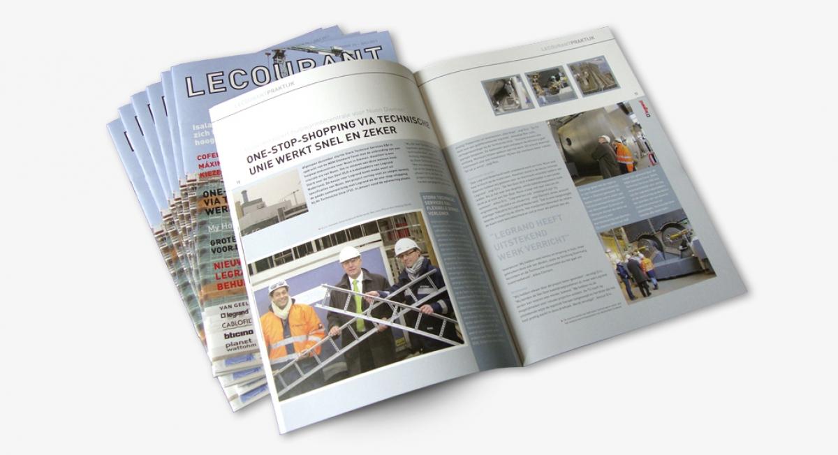 Legrand Nederland BV - Nieuwsmagazines
