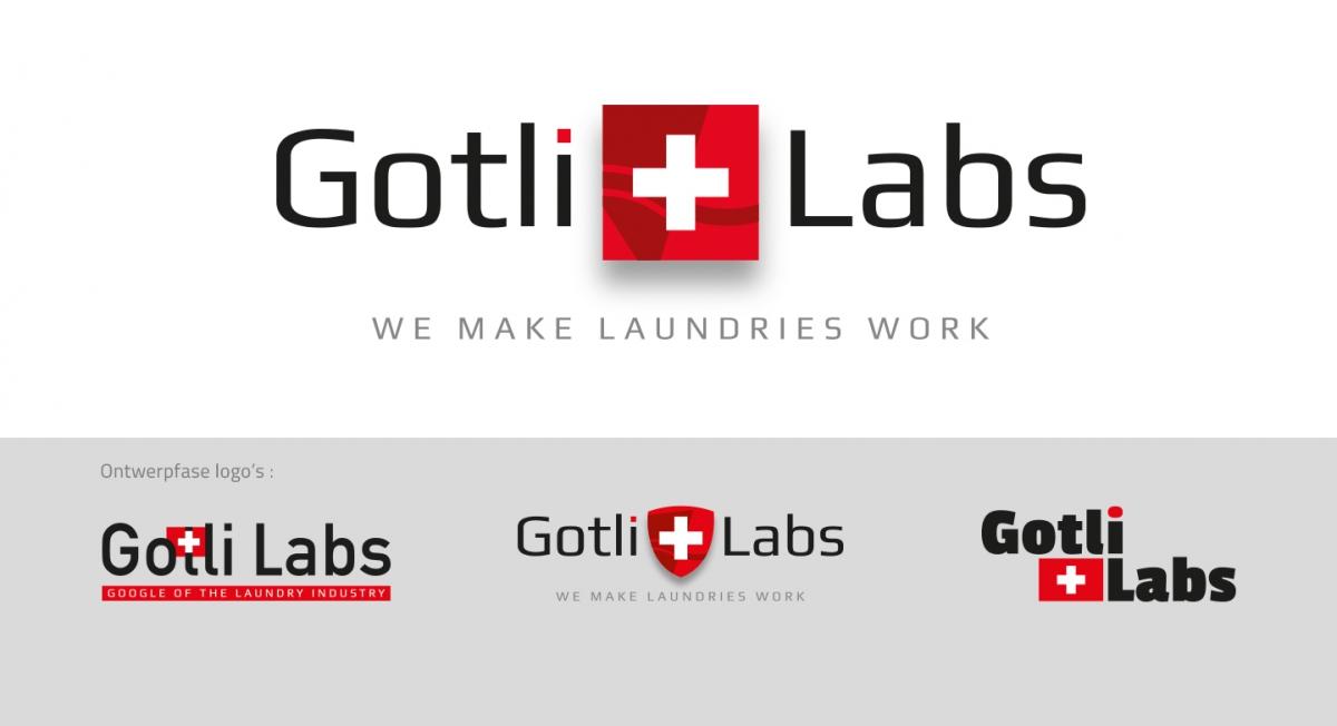 Gotli Labs - Logo-ontwerp