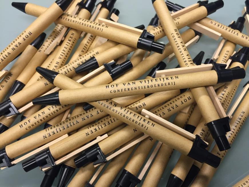 Hof van Vijfeijken - Balpennen met opdruk