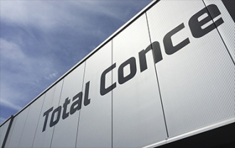 Total Concept Cars - Gevelreclame (vinylfolie-letters)