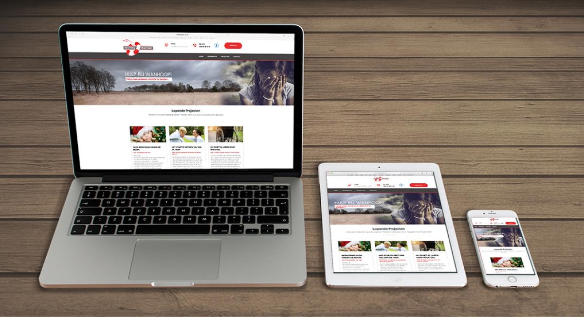 Stichting Boei-end - Webdesign