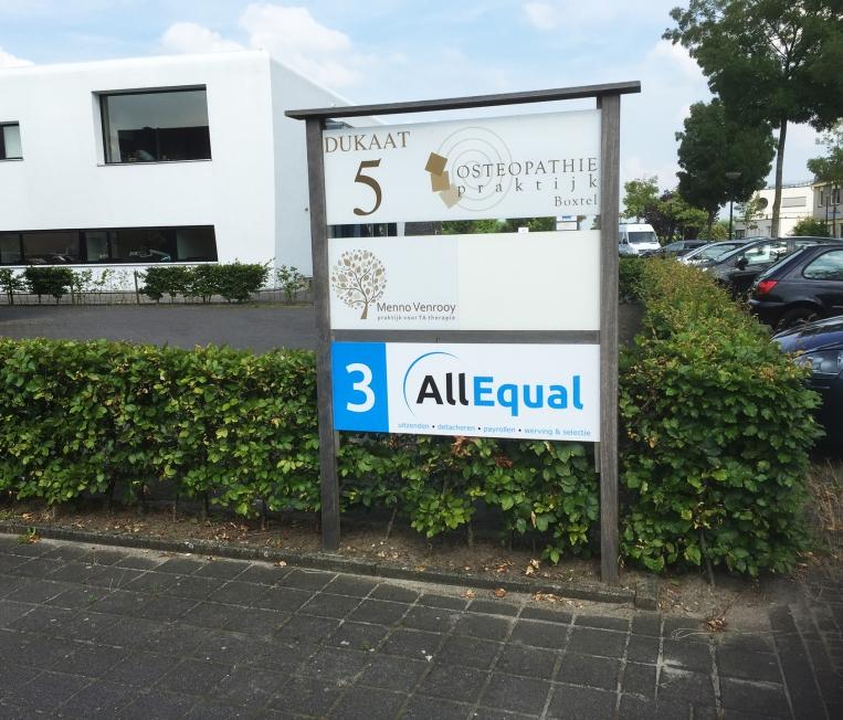 All Equal - Bewegwijzering (buiten)