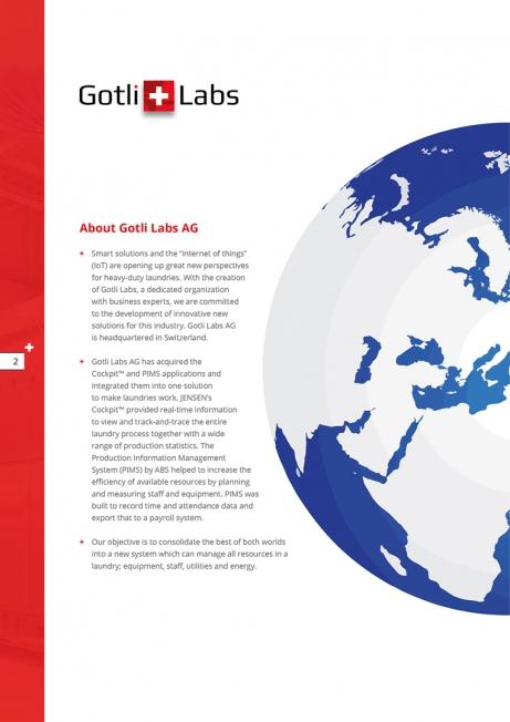 Gotli Labs - Brochure (in meerdere talen)