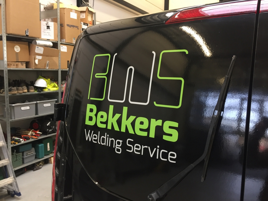 Bekkers Welding Service - Busbelettering