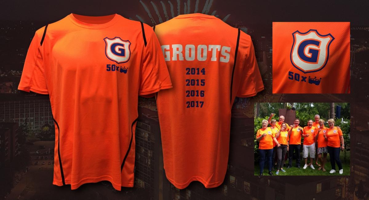 Particuliere klant - Bedrukte shirts voor jubileumconcert Guus Meeuwis