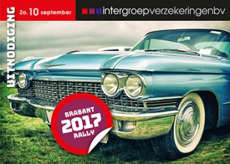 Intergroep Nederland BV - Uitnodiging jaarlijkse Brabant Rally