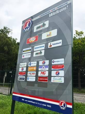 Voetbalvereniging ODC - Logo- en sponsorborden