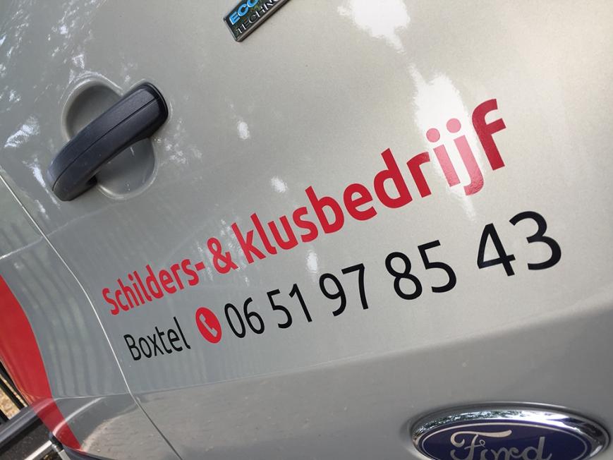 Koenders Onderhoudservice - Busbelettering