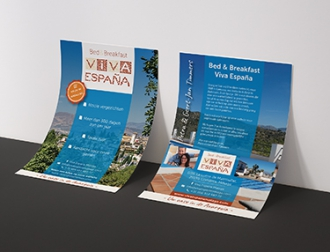 Viva España Bed & Breakfast - Flyers