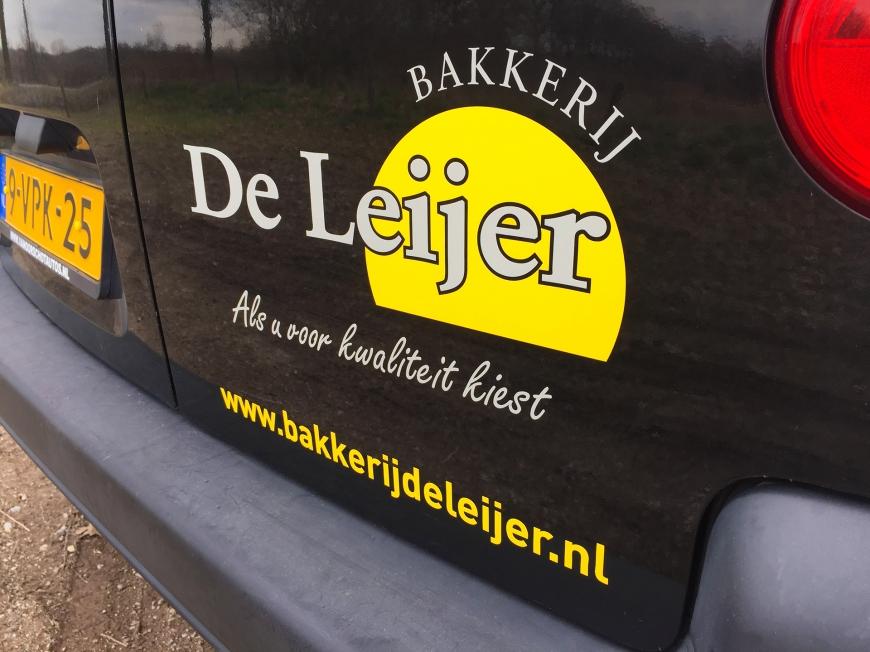 Bakkerij De Leijer - Autobelettering