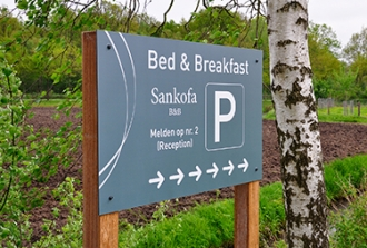 Sankofa Bed & Breakfast - Bewegwijzering