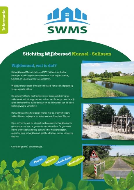 Wijkberaad Munsel-Selissen - Ontwerp leaflet