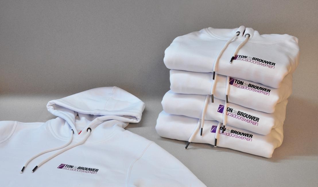 Ton de Brouwer Stucadoorswerken - Bedrukte hoodies en zipsweaters