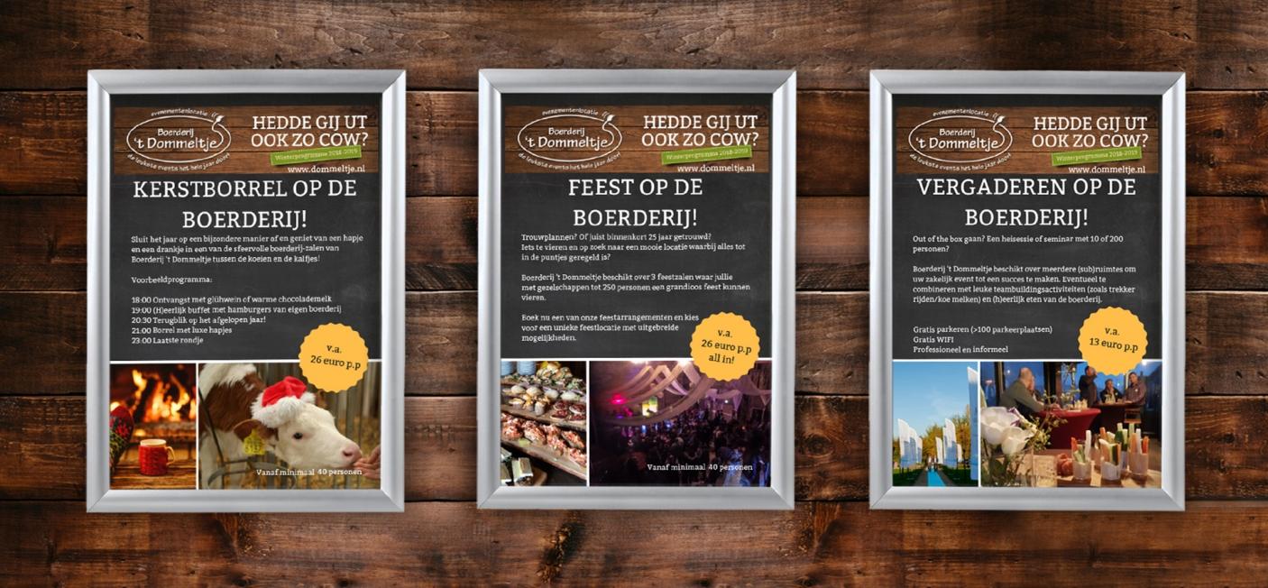 't Dommeltje - Kliklijsten met posters
