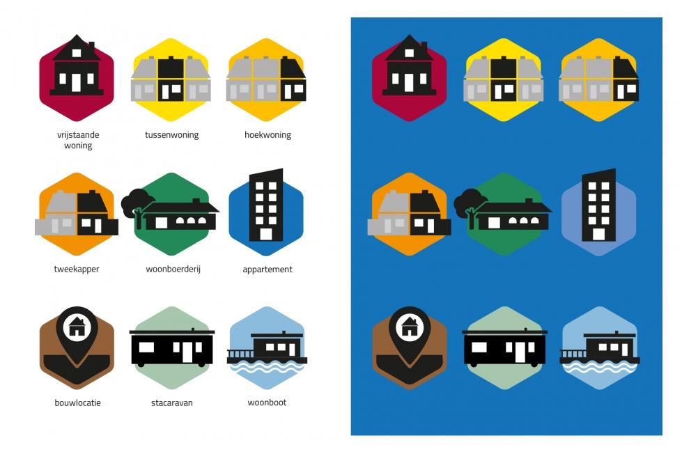 Verkoop & Vind - Logo- en huisstijlontwerp