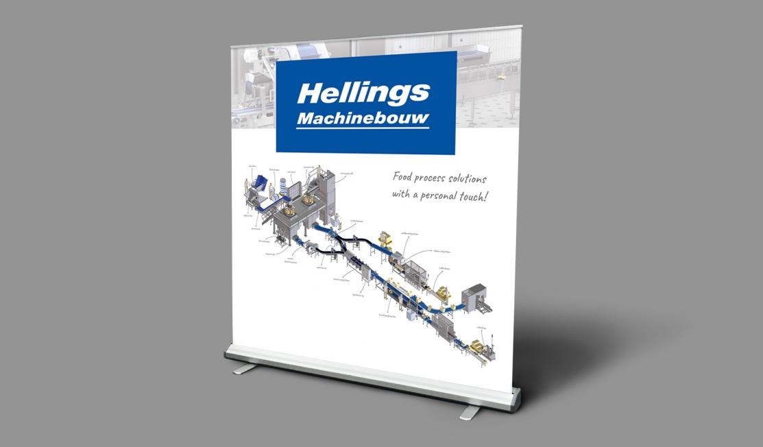Hellings Machinebouw BV - beursmaterialen