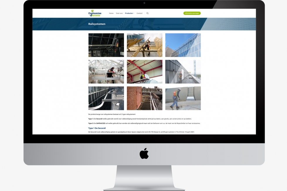 Customize 4 Access - Webdesign