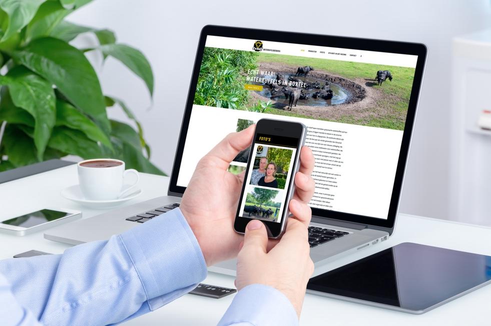 D'n Buff Waterbuffelboerderij - Webdesign