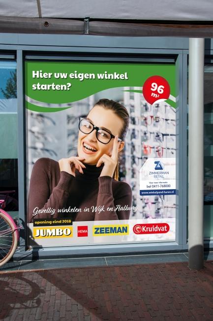 Zimmerman Retail - Winkelraamstickers