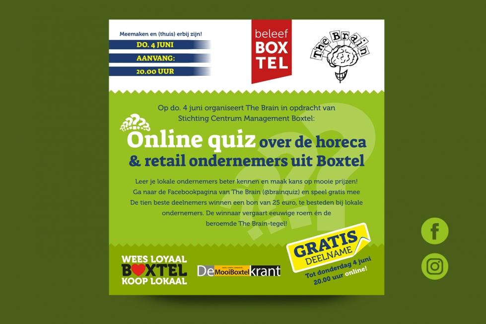 Centrummanagement Boxtel - Reclame + waardebonnen