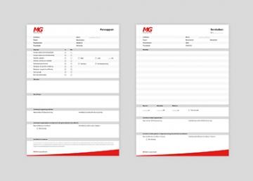 MG Vloerverwarming - Formulierblokken diversen