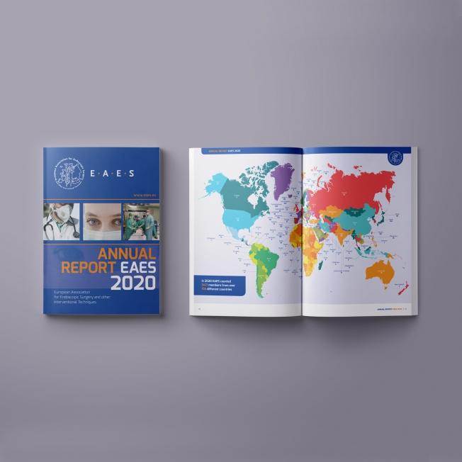 EAES Office - Jaarverslag 2020 (Engelstalig)