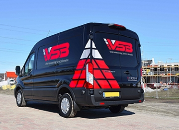Vloerverwarming Service Benelux - Wagenpark belettering