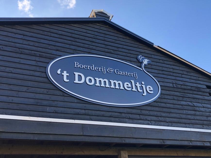 't Dommeltje Boerderij & Gasterij - gevellogo